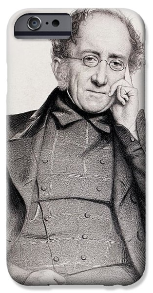 Henry De La Beche IPhone Case by Paul D Stewart