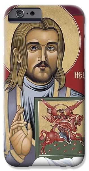 Holy New Martyr Nestor Savchuk 069 IPhone Case by William Hart McNichols