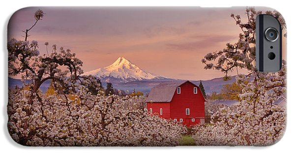 Hood River Sunrise IPhone Case by Darren  White