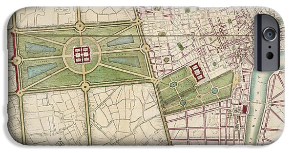 Hyde Park IPhone 6s Case by British Library