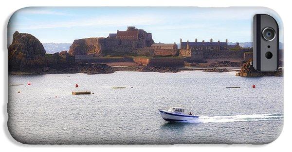 Jersey - Elizabeth Castle IPhone Case by Joana Kruse