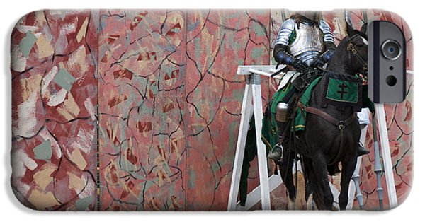 Jousting IPhone Case by Juli Scalzi