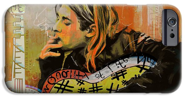 Kurt Cobain IPhone Case by Corporate Art Task Force