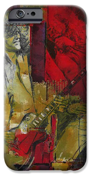 Led Zeppelin  IPhone Case by Corporate Art Task Force