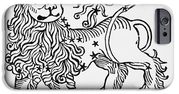Leo An Illustration From The Poeticon IPhone Case by Italian School