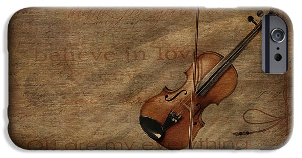Lovesong IPhone Case by Heike Hultsch