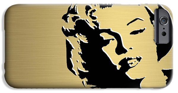 Marilyn Monroe Gold Series IPhone 6s Case by Marvin Blaine