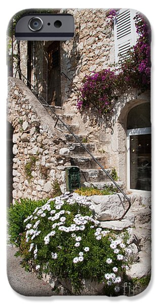 Medieval Saint Paul De Vence 3 IPhone Case by David Smith