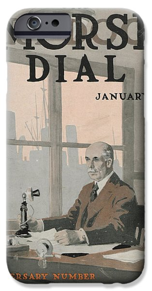 Morse Dry Dock Dial IPhone Case by Edward Hopper