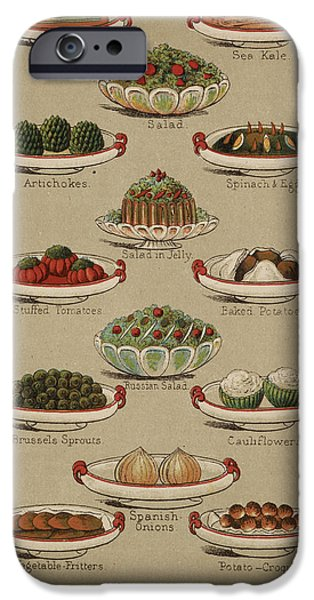 Mrs. Beeton's Family Cookery And Housekee IPhone 6s Case by British Library