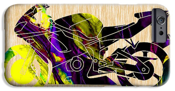 Ninja Motorcycle Art IPhone 6s Case by Marvin Blaine