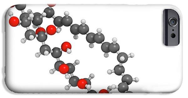 Nystatin Antifungal Drug Molecule IPhone Case by Molekuul