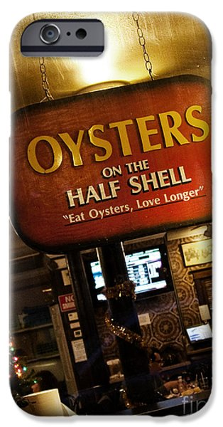 On The Half Shell IPhone Case by Scott Pellegrin