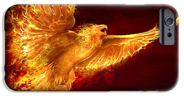 Phoenix Rising IPhone 6s Case by Tom Wood