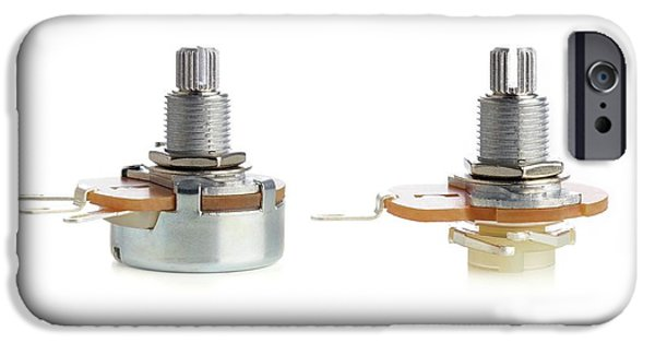 Potentiometers IPhone Case by Science Photo Library