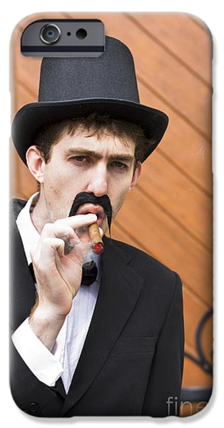 Puffing Pastime IPhone Case by Jorgo Photography - Wall Art Gallery