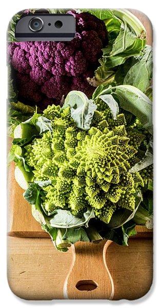 Purple And Romanesque Cauliflowers IPhone 6s Case by Aberration Films Ltd