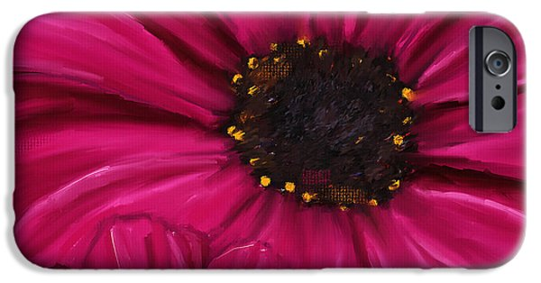 Purple Beauty IPhone 6s Case by Lourry Legarde