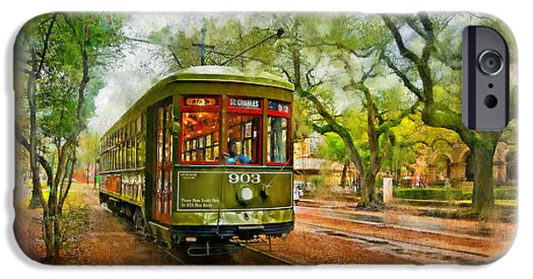 Rollin' Thru New Orleans 2 IPhone Case by Steve Harrington