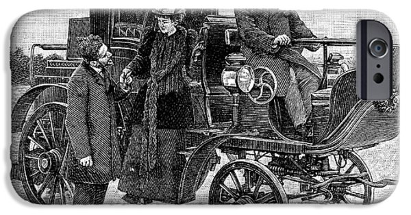 Serpollet Steam Car IPhone Case by Science Photo Library