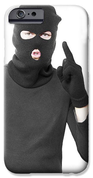 Sneaking Thief Committing Silent Crime IPhone Case by Jorgo Photography - Wall Art Gallery