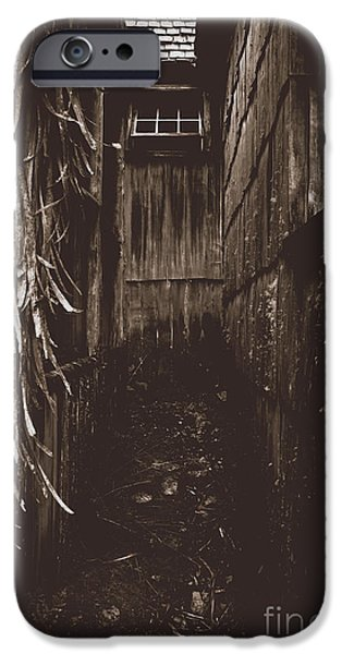 Spooky Early Settlers Rundown Country House IPhone Case by Jorgo Photography - Wall Art Gallery
