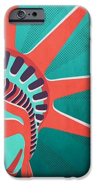 Statue Of Liberty  IPhone Case by Mark Ashkenazi