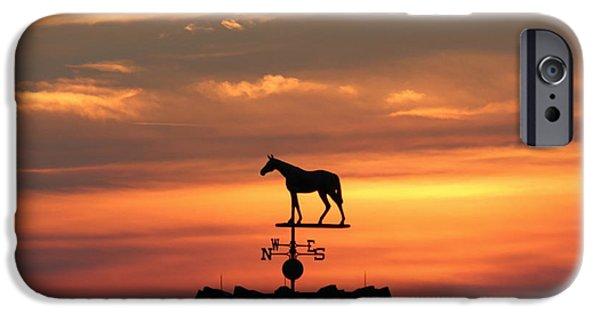 Sunrise At Keeneland IPhone Case by Megan Genova