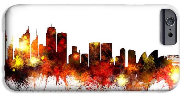 Sydney Australia Skyline IPhone 6s Case by Michael Tompsett
