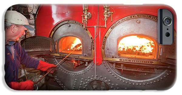 The Boiler At Queens Mill In Burnley IPhone Case by Ashley Cooper