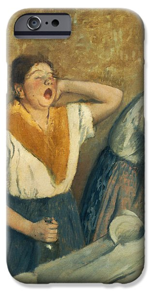 The Laundresses IPhone Case by Edgar Degas