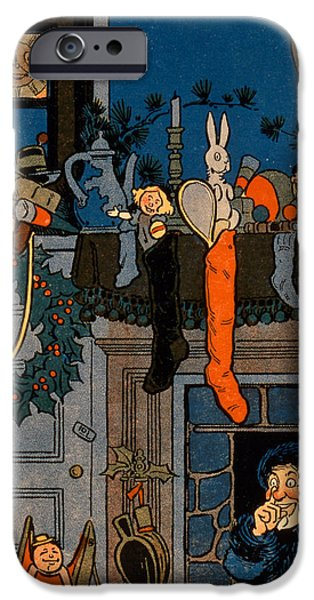 The Night Before Christmas IPhone Case by Denlow