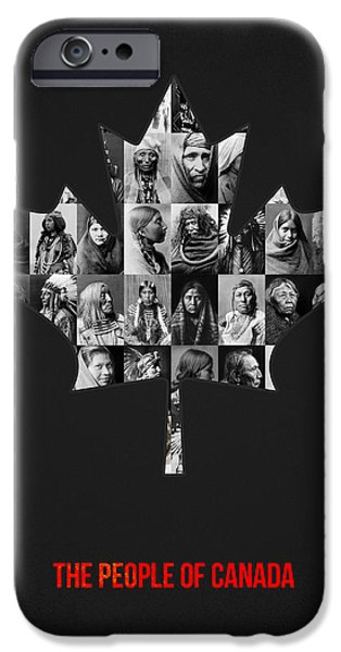 The People Of Canada IPhone Case by Aged Pixel