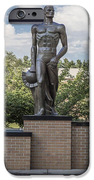 The Spartan Statue At Msu IPhone 6s Case by John McGraw