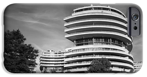 The Watergate Hotel - Washington D C IPhone Case by Mountain Dreams