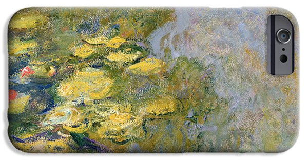 The Waterlily Pond IPhone Case by Claude Monet