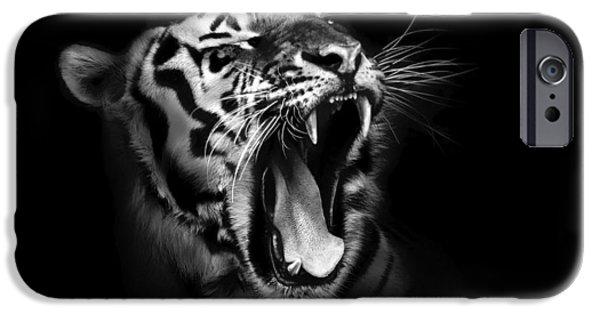 Tiger's Roar IPhone Case by Mountain Dreams
