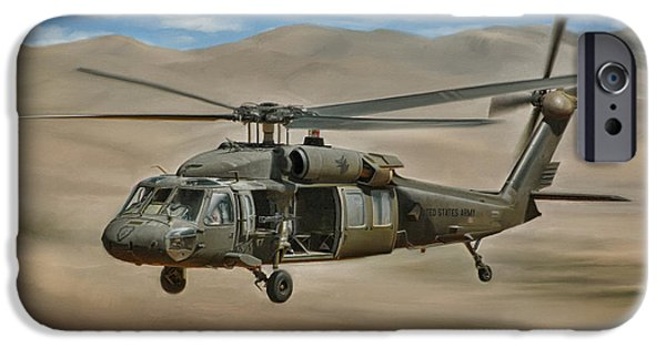Uh-60 Blackhawk IPhone Case by Dale Jackson