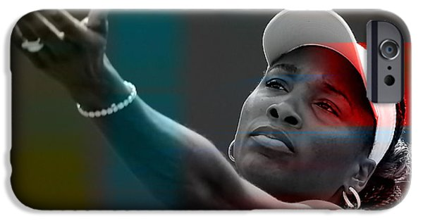 Venus Williams IPhone 6s Case by Marvin Blaine