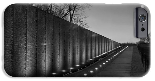 Vietnam Veterans Memorial At Sunset IPhone Case by Mountain Dreams
