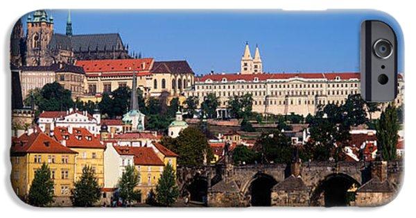 Vltava River, Prague, Czech Republic IPhone Case by Panoramic Images