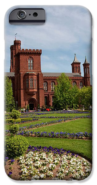 Washington Dc, Smithsonian Headquarters IPhone Case by Lee Foster