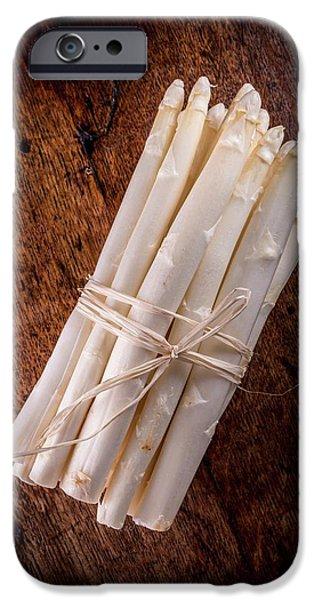 White Asparagus IPhone 6s Case by Aberration Films Ltd