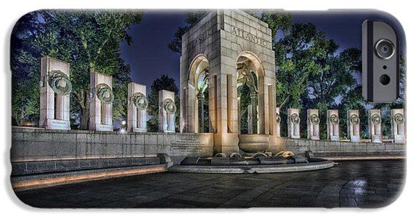 World War II Memorial - Washington Dc IPhone Case by Mountain Dreams
