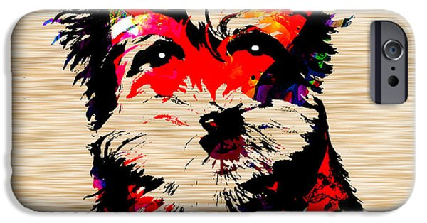 Yorkshire Terrier IPhone Case by Marvin Blaine