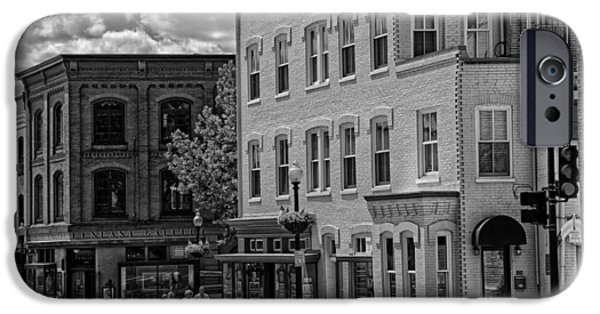 Historic Georgetown - Washington D C IPhone Case by Mountain Dreams