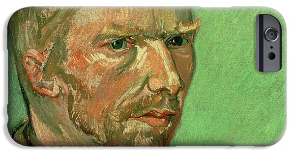 Self Portrait IPhone Case by Vincent Van Gogh