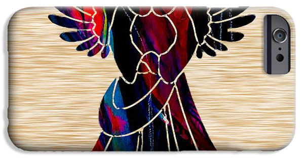 Angel IPhone Case by Marvin Blaine