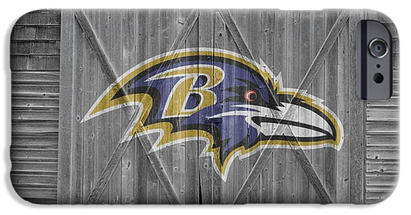 Baltimore Ravens IPhone Case by Joe Hamilton