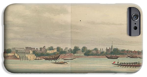 Panorama Of The City Of Dacca IPhone Case by British Library